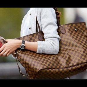 GM Louis Vuitton Neverfull Damier Ebene